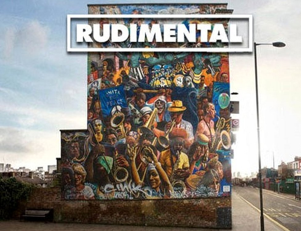 Album cover for Home by Rudimental