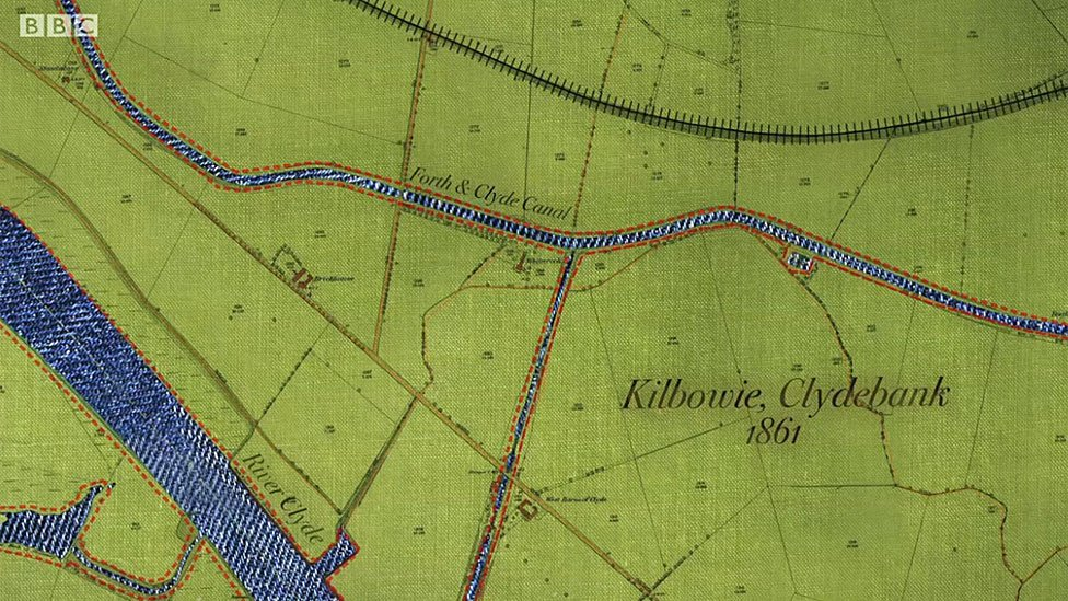 Mapa de la zona antes de la llegada de Singer