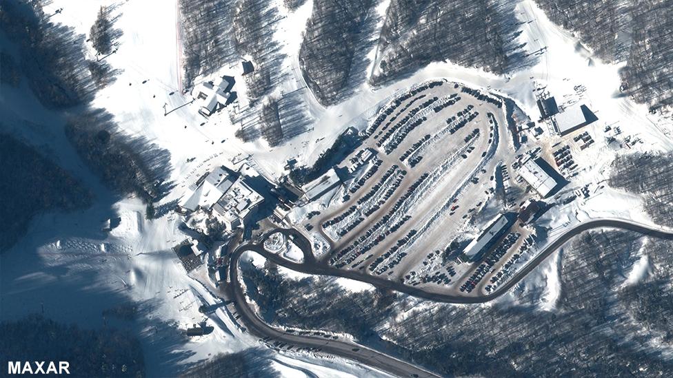 Killington Ski Resort, Vermont, 30 January 2020