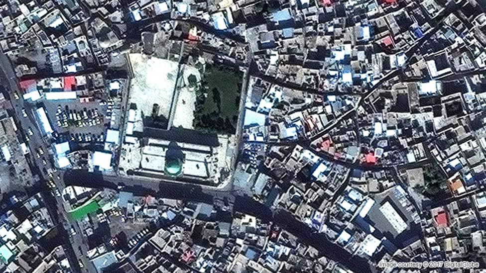 Gran Mezquita de Al-Nuri Noviembre de 2015