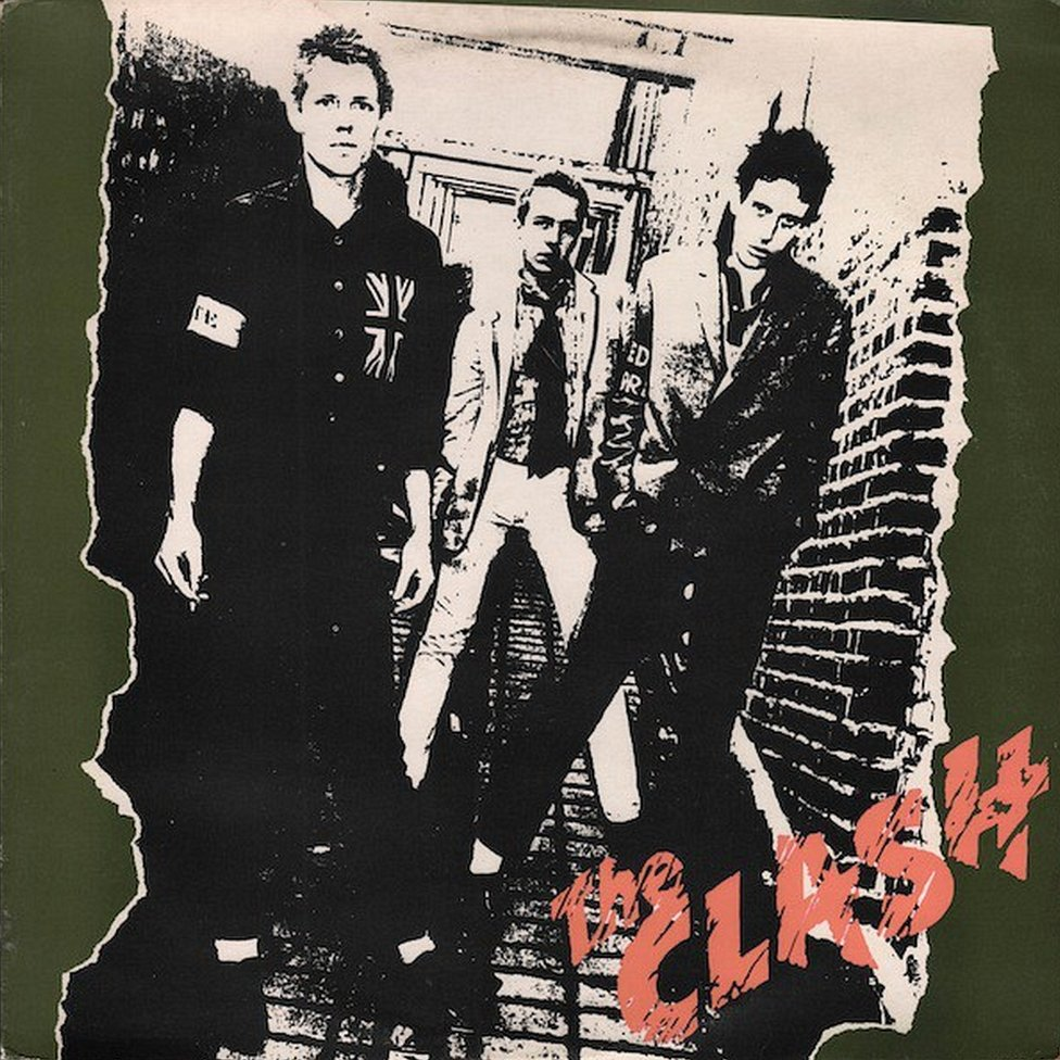 Album Cover for The Clash by The Clash