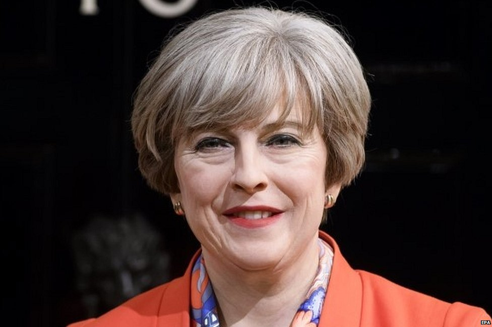 Smiling wax figure of Theresa May belies prime minister's torment