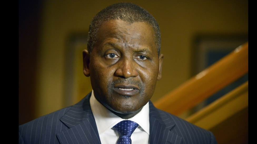 Aliko Dangote, the continent's richest man was on the fabricated list.