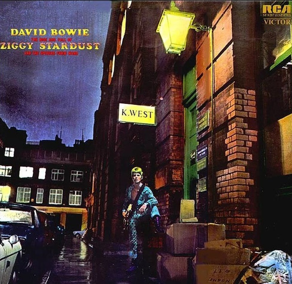 Album cover of Ziggy Stardust and the Spiders from Mars