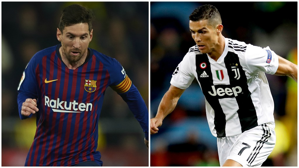 purchase cheap 6d5d4 1dcf8 Quiz: Lionel Messi or Cristiano Ronaldo - guess who? - BBC Sport