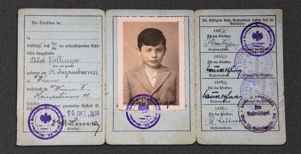 The boy left behind in Nazi Vienna