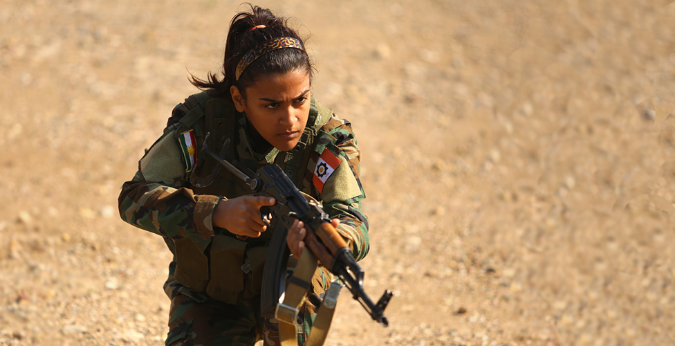 The female front line