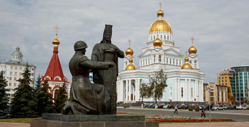 Города ЧМ-2018: Саранск - BBC Русская служба